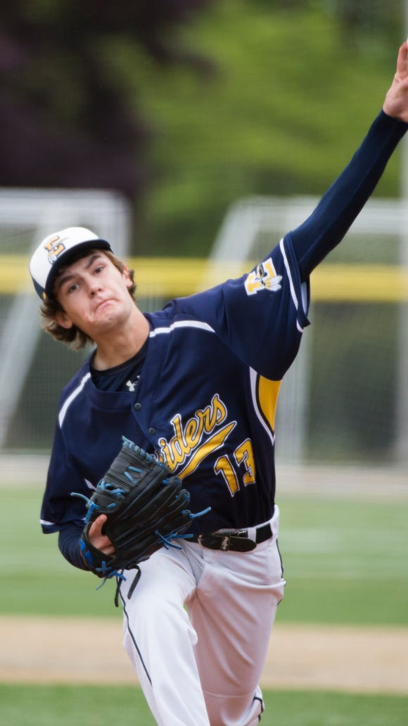 Elco's Cole Blatt threw a complete game in three of the Raiders' last eight games. Elco will travel to Twin Valley for its district tournament opener on Monday.
