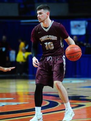 Chillicothe graduate and Concord University's Tommy Bolte has been named a CCA first-team All-American.