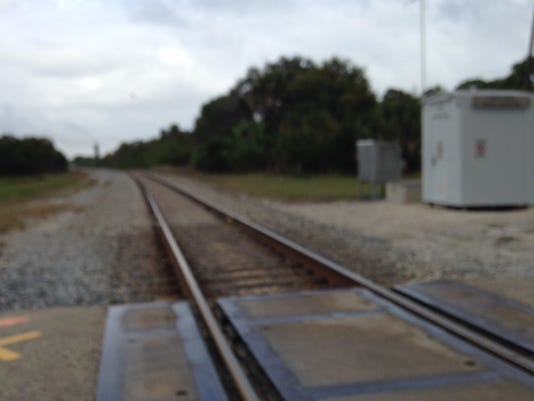 Post Road rail crossing