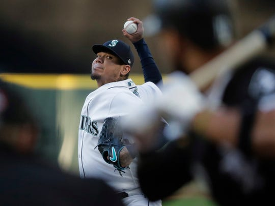 After struggling to start the season, Mariners starter Felix Hernandez turned to director of high performance Lorena Martin to improve his workouts between appearances. He's seen an increase in his fastball velocity.