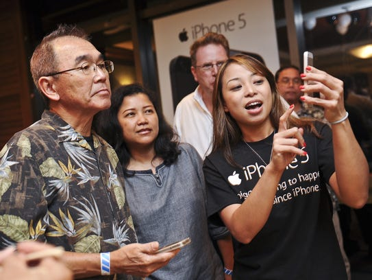 GTA TeleGuam's pre-launch party for the iPhone 5 held