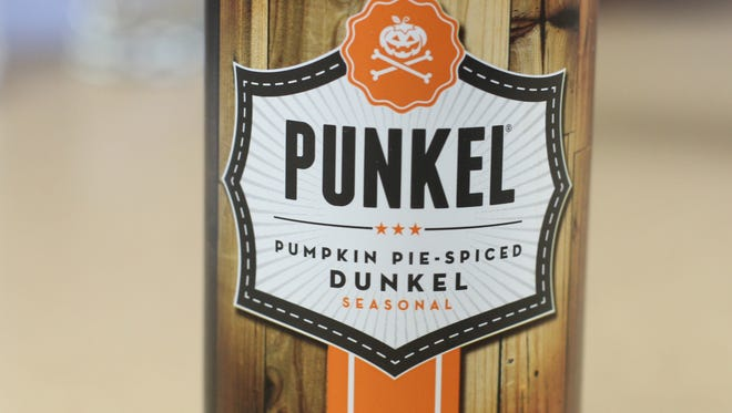 Lakewood Brewing's Punkel is a pumpkin pie spiced dunkel seasonal beer.