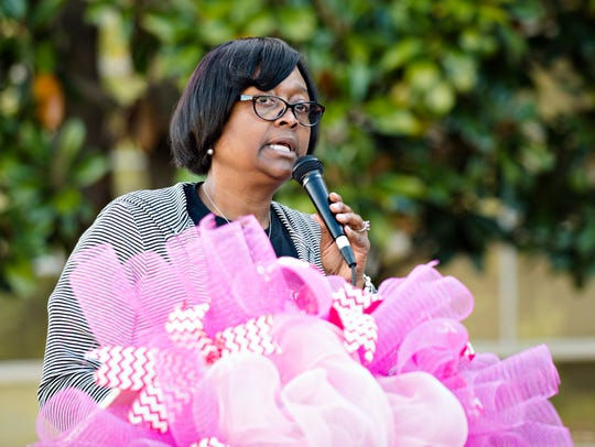 Cheryl Fountain, Capitol Heights Middle School principal,