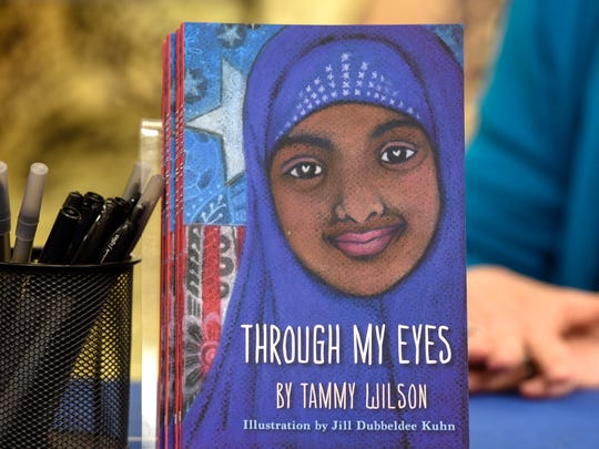 "A copy of ""Through My Eyes"" is on display Saturday, April 1, at Barnes and Noble in St. Cloud."