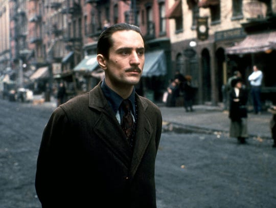 "Robert De Niro stars in ""The Godfather: Part II."""