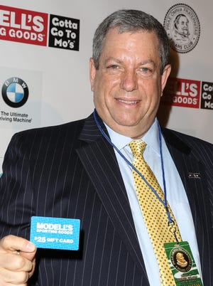 CEO of Modell's Mitchell Modell attends the Friars Club Roast honoring Boomer Esiason at The Waldorf-Astoria on Jan. 30, 2014, in New York City.