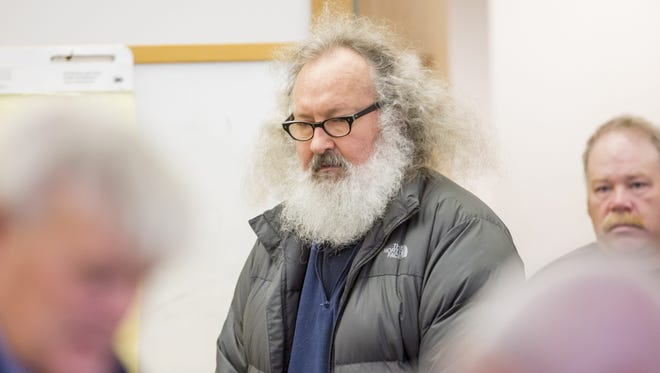 Actor Randy Quaid appears in Vermont Superior Court in St. Albans on Monday, Oct. 12, 2015.
