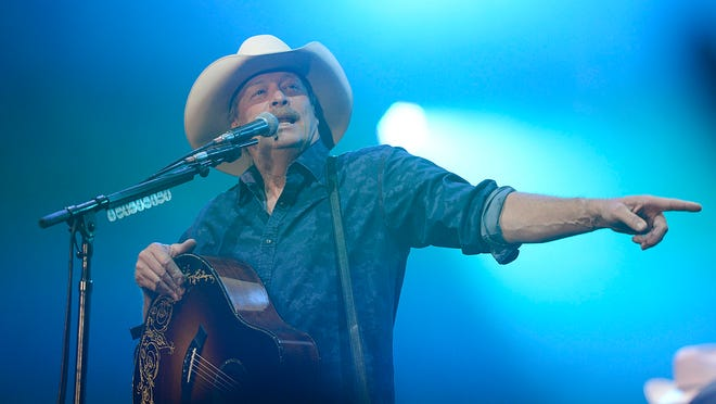 Country artist Alan Jackson performs Friday night during his Keepin' It Country Tour at the Resch Center in Ashwaubenon.