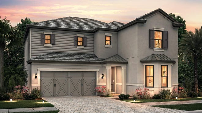 The Eastfield is one of the homes Pulte is offering at Verona Pointe Estates.