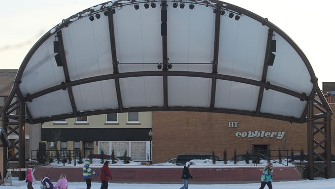The 400 Block will play host to ice skaters for Winter Fest.