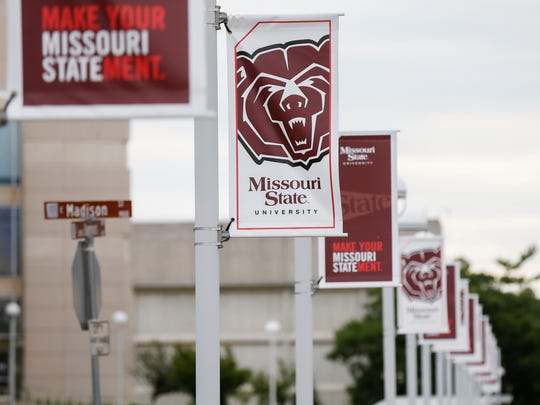 The Bear logo pops up many places around the Missouri