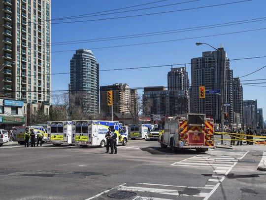 Canada Van Hits Pedestrians (2)