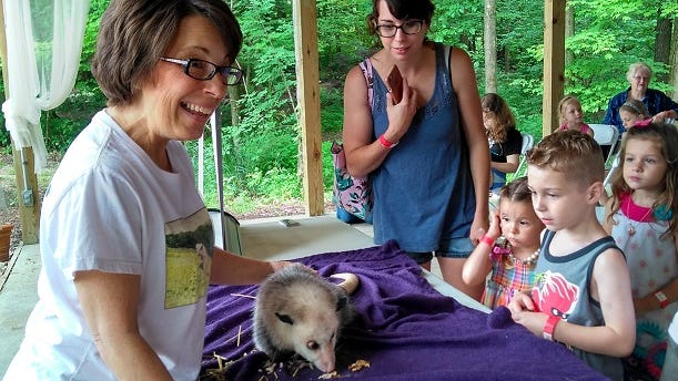 Youngsters will get an up-close look at animals and other living things at the new Critter Features at Beech Creek Botanical Garden and Nature Preserve.
