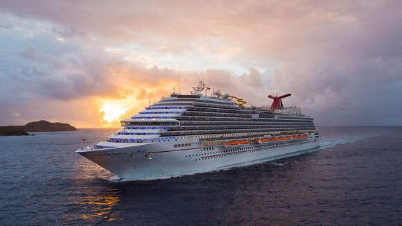 25. Carnival Breeze, built by Carnival Cruise Lines