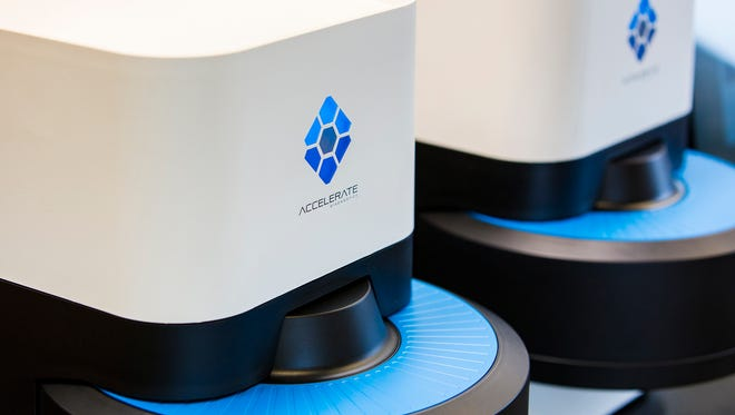 Accelerate Diagnostics is a Tucson-based health-services company.