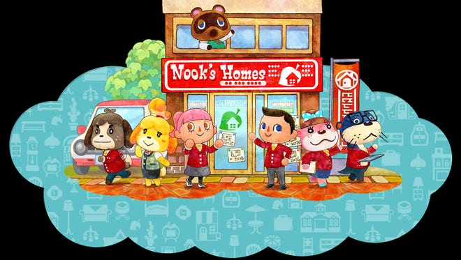 """""""Animal Crossing: Happy Home Designer"""" for the Nintendo 3DS."""