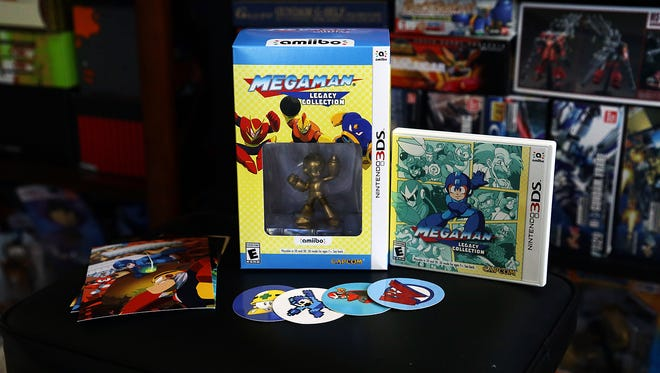 Mega Man Legacy Collection Collector's Edition unboxing.