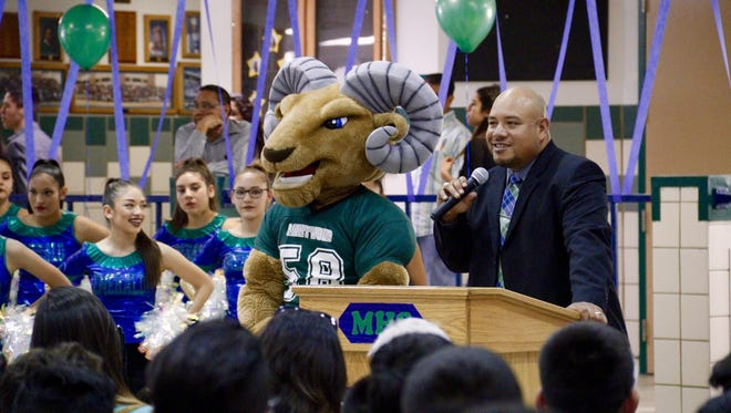 Ariel Famaligi is the new head football coach at Montwood High School. He spent the last 10 years as an assistant coach at Del Valle.