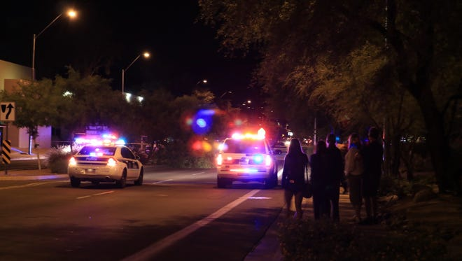 Central Avenue was closed from Ruth Ave to Dunlap Road after a shooting Thursday evening.