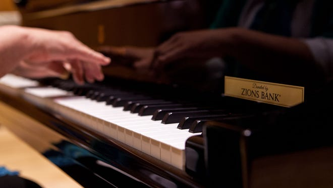 Zions Bank recently donated a new Model D Concert Grand Steinway piano, worth $162,000, to Dixie State University.