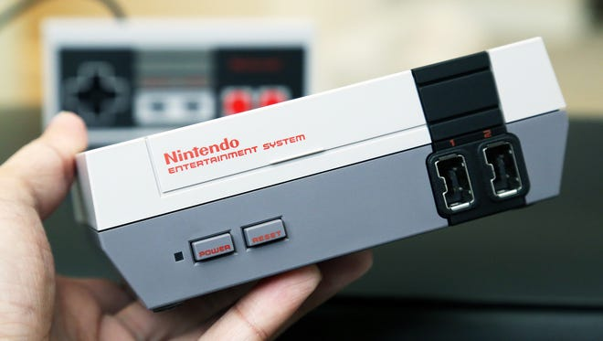 The NES Classic Edition emulates the look of the original NES console in a more petite package.