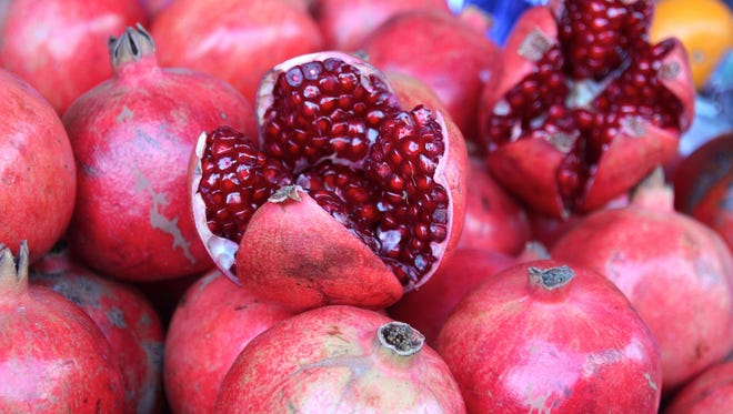 Look out kale, pomegranates are the new superfood.