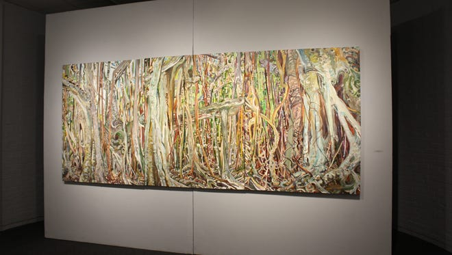 FSU's Art Faculty Exhibit showcases the art of the school's faculty. The exhibit will run from Jan. 13 to Feb. 5.