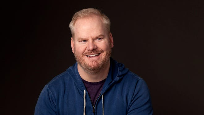 Comedian Jim Gaffigan plays Hertz Arena on Sunday.