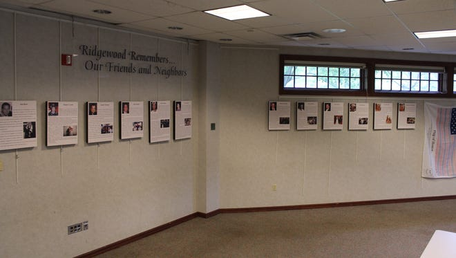 The Ridgewood Library is remembering those lost on 9/11 as friends and neighbors.
