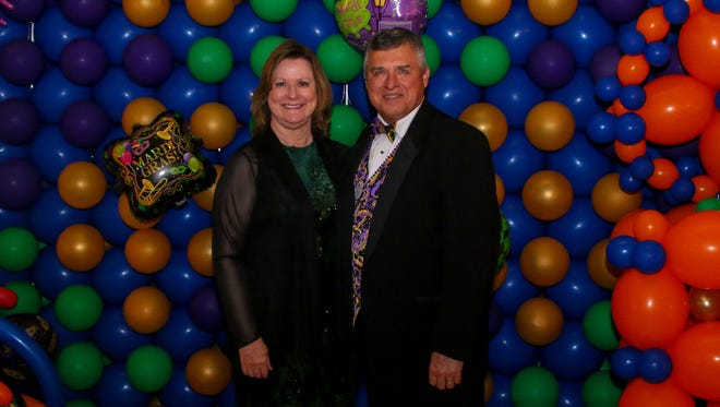 People enjoy the 23rd annual Cordova Mall Ball on Saturday, January 27, 2018. The event helps raise money for the Studer Family Children's Hospital at Sacred Heart.