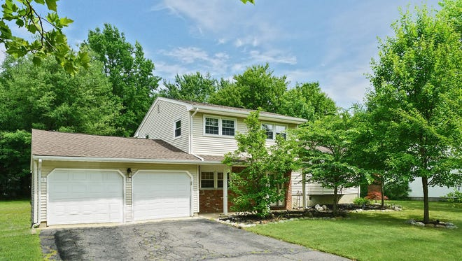This four-bedroom split-level home will be open to the public from 1-to-4 p.m., Sunday, July 29.