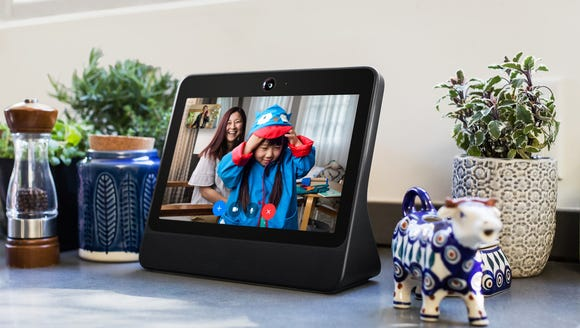 The smaller Facebook Portal doesn't have a great speaker,