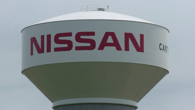 Nissan water tower for five year anniversary.