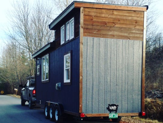 Chrissy Bellmyer's 240 square foot tiny house, prior