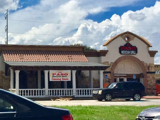 El Paso Mexican restaurant is making a comeback to their previous location at 3910 Ambassador Caffery Parkway.