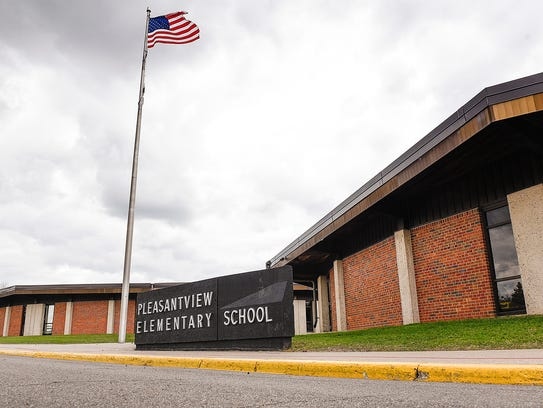 Pleasantview Elementary School in Sauk Rapids is pictured