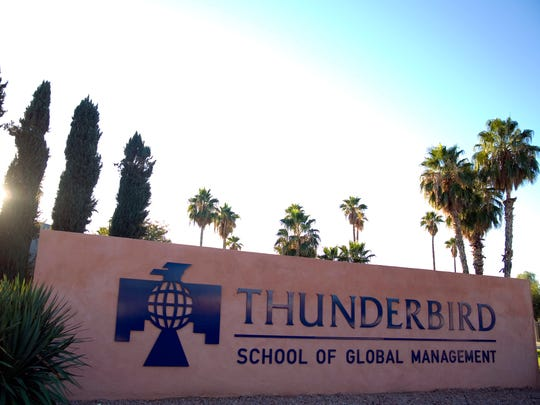 """While Glendale has been the proud home of the Thunderbird School for over 70 years, now that ASU has made their decision, our immediate priority is ensuring the careful planning of the redevelopment of the 140-acre site that Thunderbird currently occupies,"" Glendale said in a statement provided by Brent Stoddard, the city's director of public affairs."
