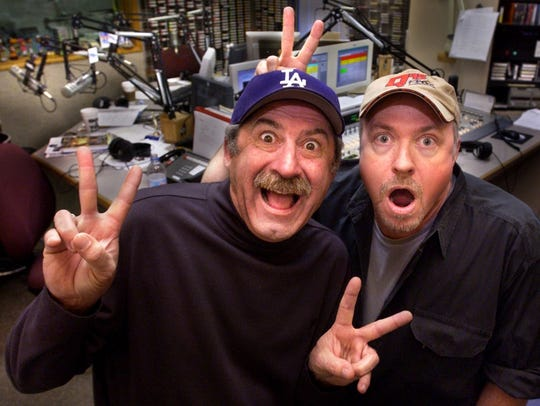 """Bob Kevoian, left, and Tom Griswold launched """"The Bob"""