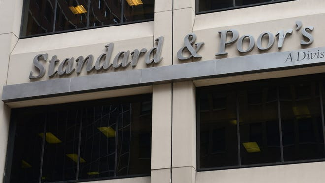 Standard and Poor's headquarters in New York.