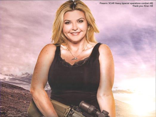 Reno Calendar June : Nevada politician michele fiore releases calendar touting guns