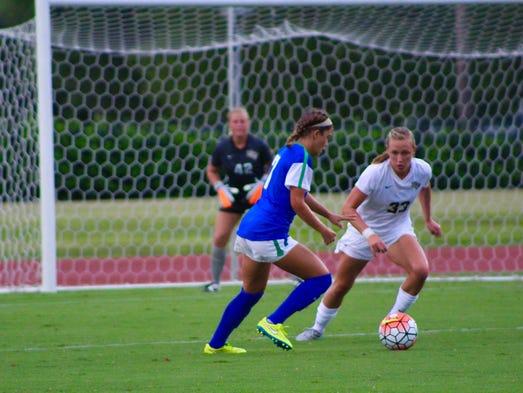 UCF women's soccer preseason game Thursday against