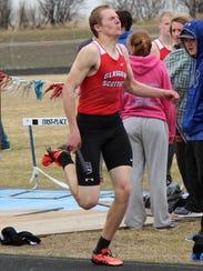 Brett Glaser of Glasgow is an inspirational athlete