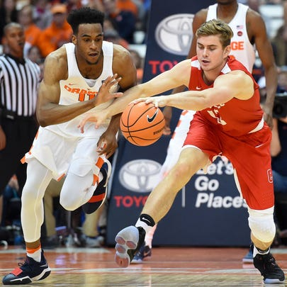 Stone Gettings is a grad transfer from Cornell who
