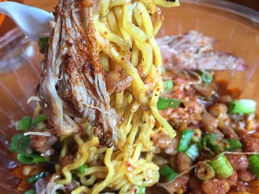 Kimchi Smoke ramen dish