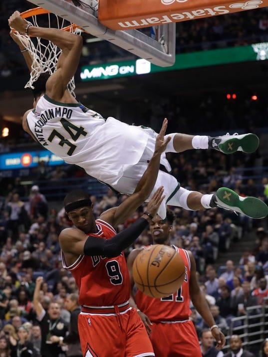Bucks 108, Bulls 97: Giannis, Jabari put on a show