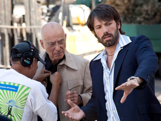 "Ben Affleck and Alan Arkin in a scene from ""Argo"" (2012)."
