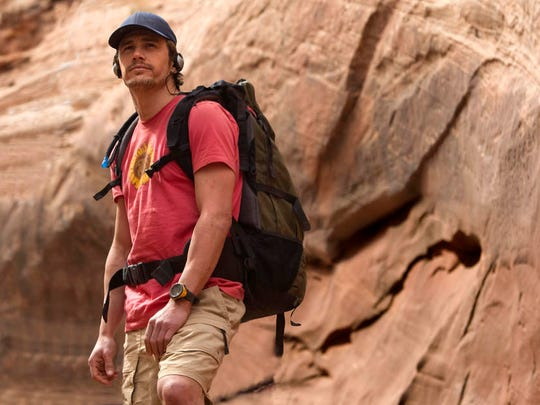 """James Franco in a scene from """"127 Hours"""" (2010)."""