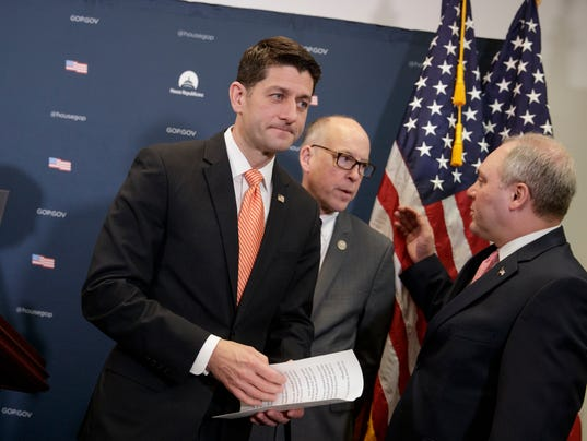 Paul Ryan, Steve Scalise, Greg Walden