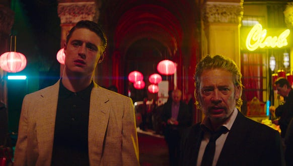 Alfred (Max Irons, left) is the up-and-coming hitman