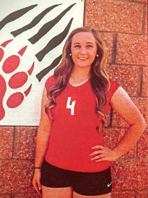 Kristie Gallacher is student athlete of the week.